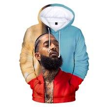 Nipsey Hussle Hoodie Sweatshirts Plus Size Streetwear Tops Spring Hoodies Men Women Hooded Pullover Tracksuit