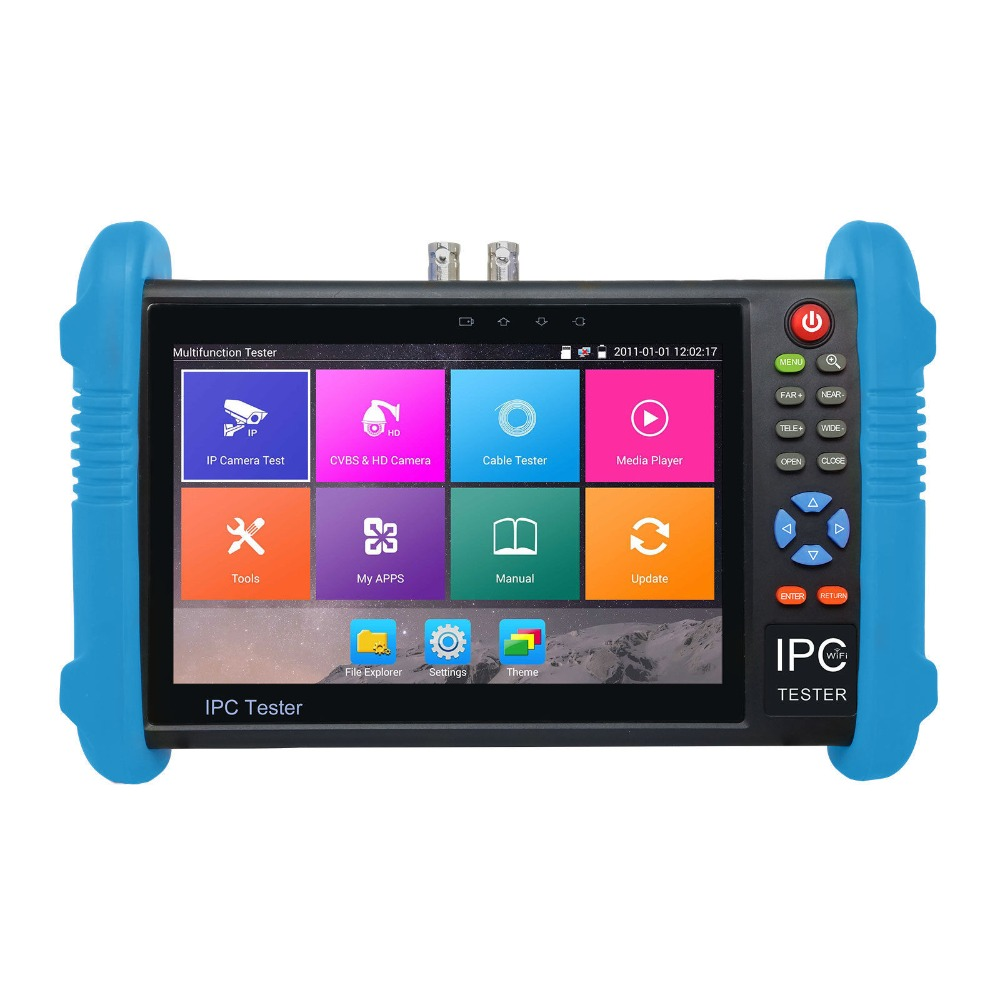 7 Inch Display IP Camera Tester CCTV Tester CVBS Analog Tester ...