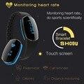 Sh09u bp smartband pasómetro barcelet ip67 a prueba de agua deportes heart rate monitor inteligente para iphone xiaomi huawei meizu lenovo