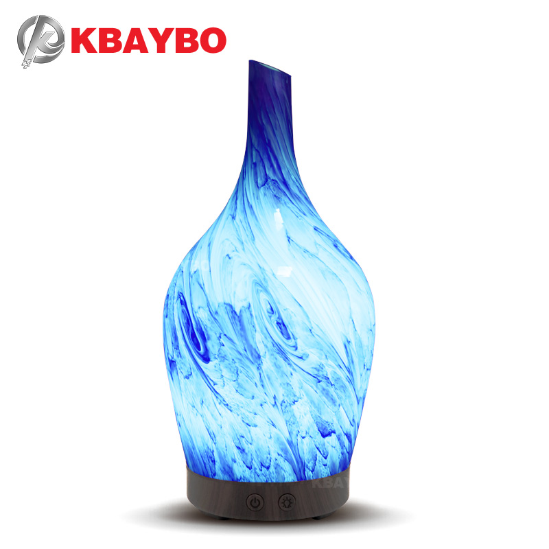 KBAYBO 100ml Aroma Air Humidifier Essential Oil Diffuser Aromatherapy Electric Diffuser Mist Maker for Home with 7 LED lightsKBAYBO 100ml Aroma Air Humidifier Essential Oil Diffuser Aromatherapy Electric Diffuser Mist Maker for Home with 7 LED lights