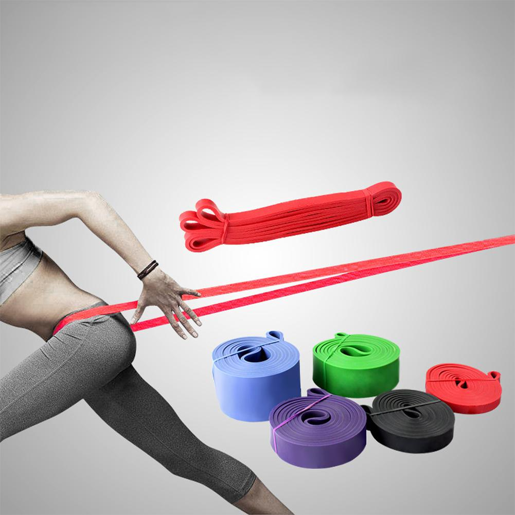 HobbyLane Heavy Duty Rubber Loop Pull Rope Sports Stretch Tension Wrist Harness Yoga Rope Pull Pilates Fitness Belt
