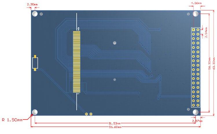 Livraison gratuite! Module d'écran TFT LCD 3.5 pouces Ultra HD 320X480 pour carte Arduino MEGA 2560 R3