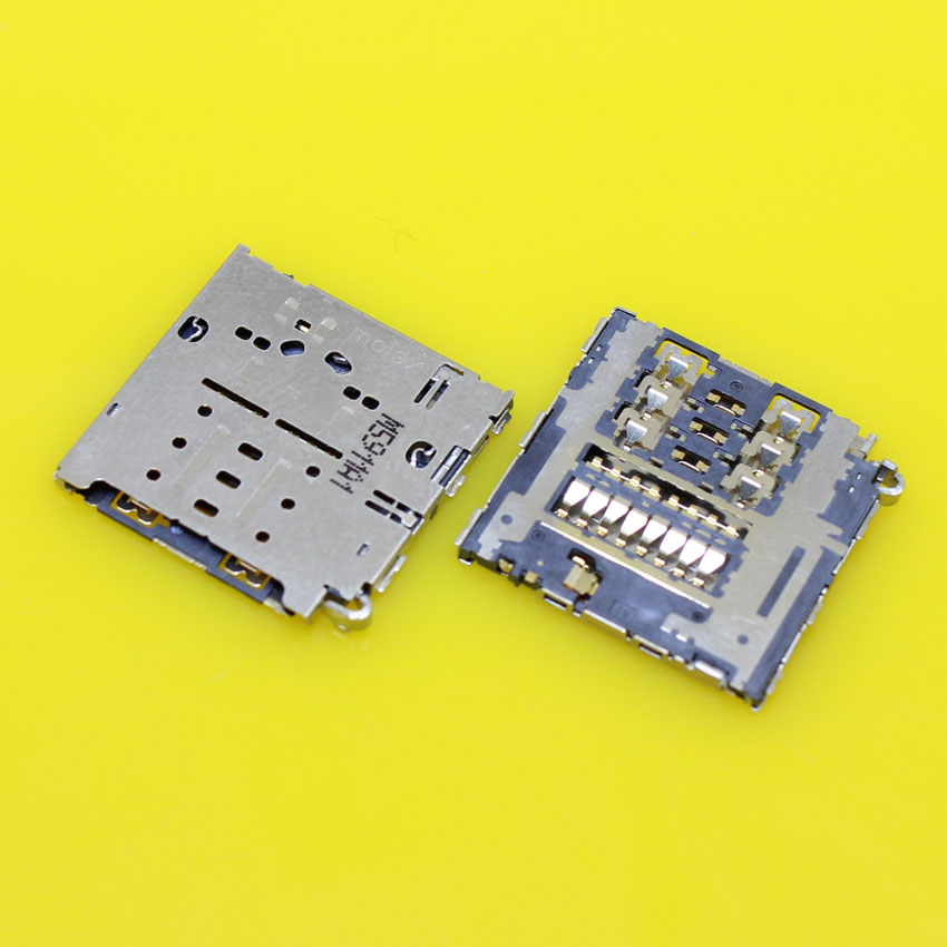 cltgxdd KA-188 New for Samsung A8 SIM card reader Socket holder connector slot tray module