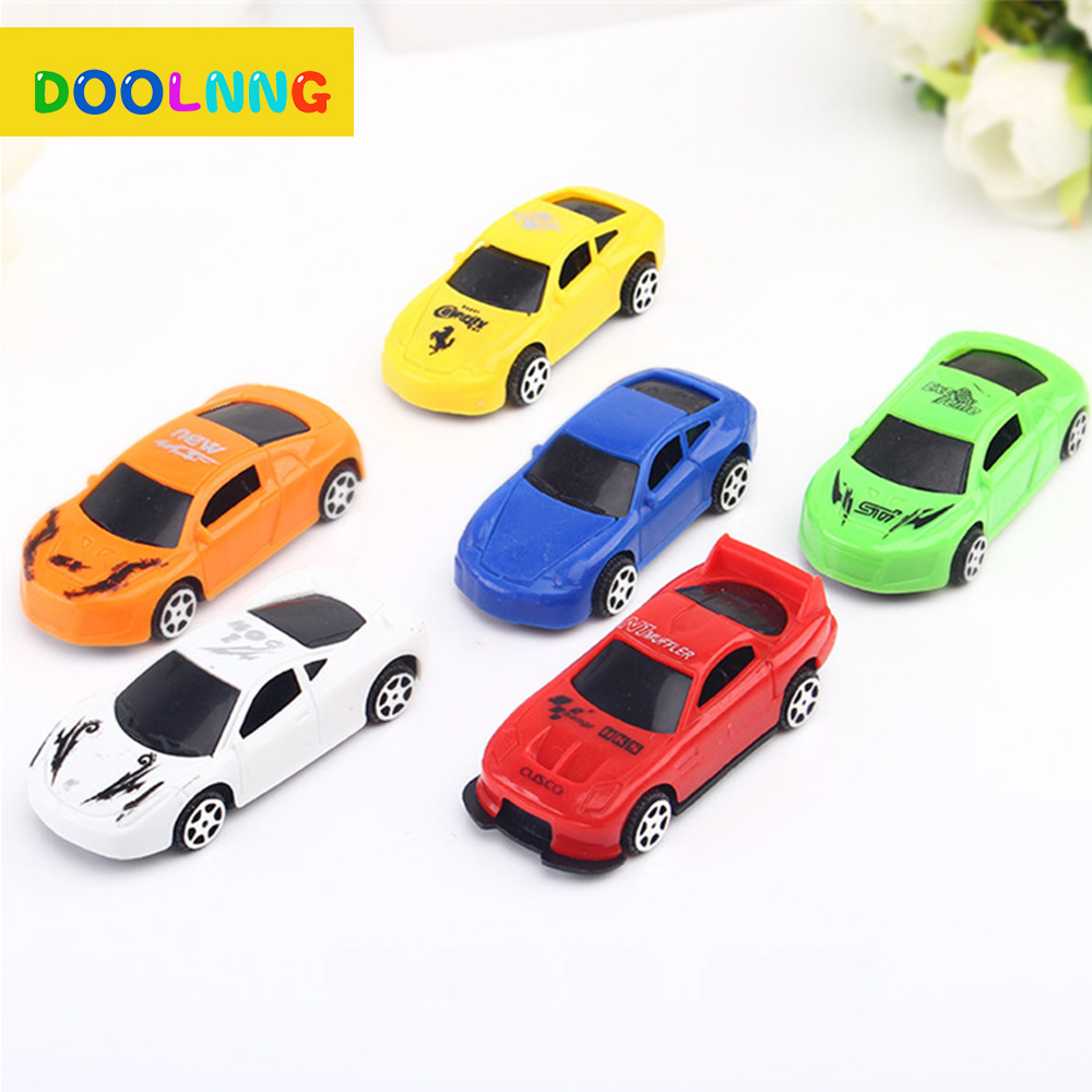 DOOLNNG Mini Pull Back Car Toys For Kids Racing Model No Battery Required Funny Childrens Christmas Gifts DL-1221
