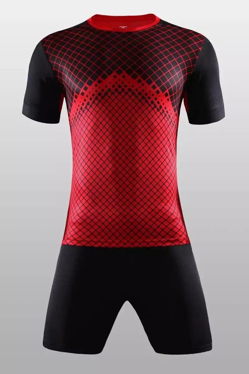Design your own football jersey t-shirt - 2017 Newest Best Quality Soccer Jerseys Custom Design Team Logo Number Name Football Uniforms Training Sets Men Soccer Jerseys