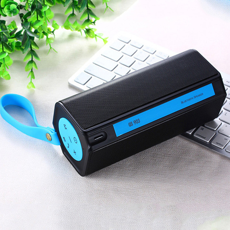 Wireless Bluetooth Speaker Portable Outdoor Waterproof Stereo Mini Hifi Subwoofer Sound Box With Power Bank/Mic Support TF FM