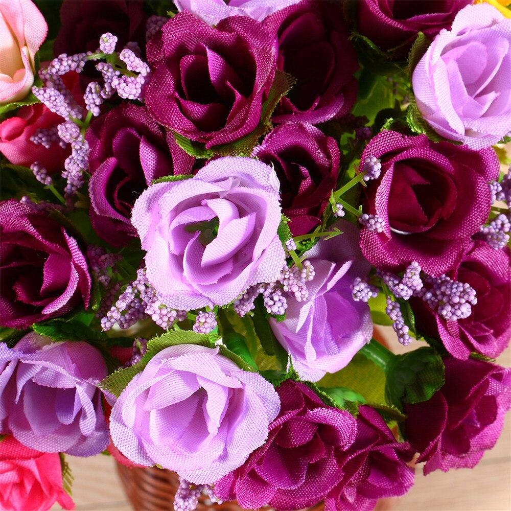 1 Set Home Decor Rose Spring Artificial Fake Flower Room Wedding Hydrangea Decor