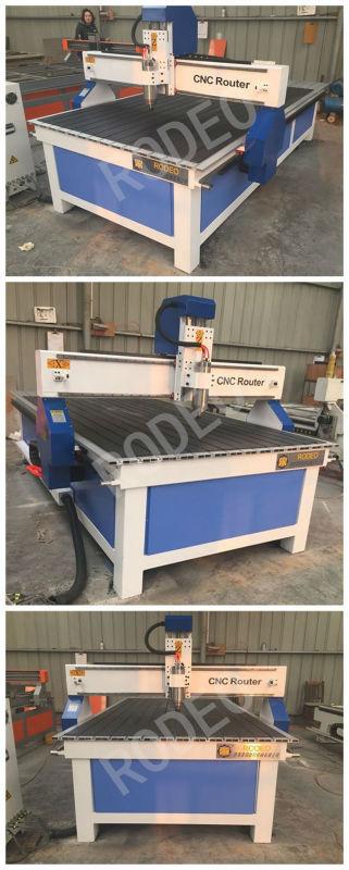 Snadné ovládání Čína cnc stroj, dřevo cnc cena stroje, cnc - Zařízení na obrábění dřeva - Fotografie 4