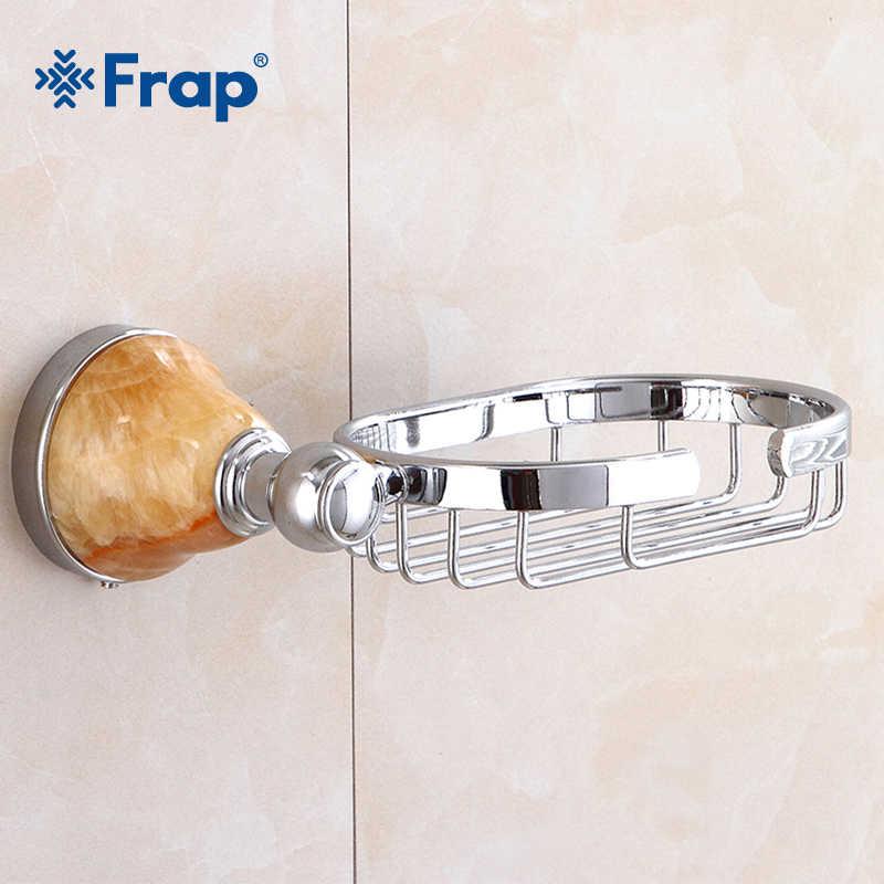 Frap мыло Dishe Металл Серебро домашнее улучшение мыло Корзина для ванной держатель для хранения керамика аксессуары для ванной мыльница Y18010