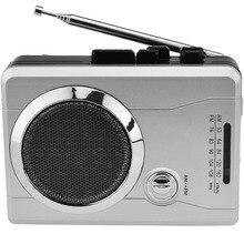AM/карманное FM-радио кассетный плеер, Портативный личный голос аудио кассеты Регистраторы Кассетный плеер Walkman Встроенный динамик