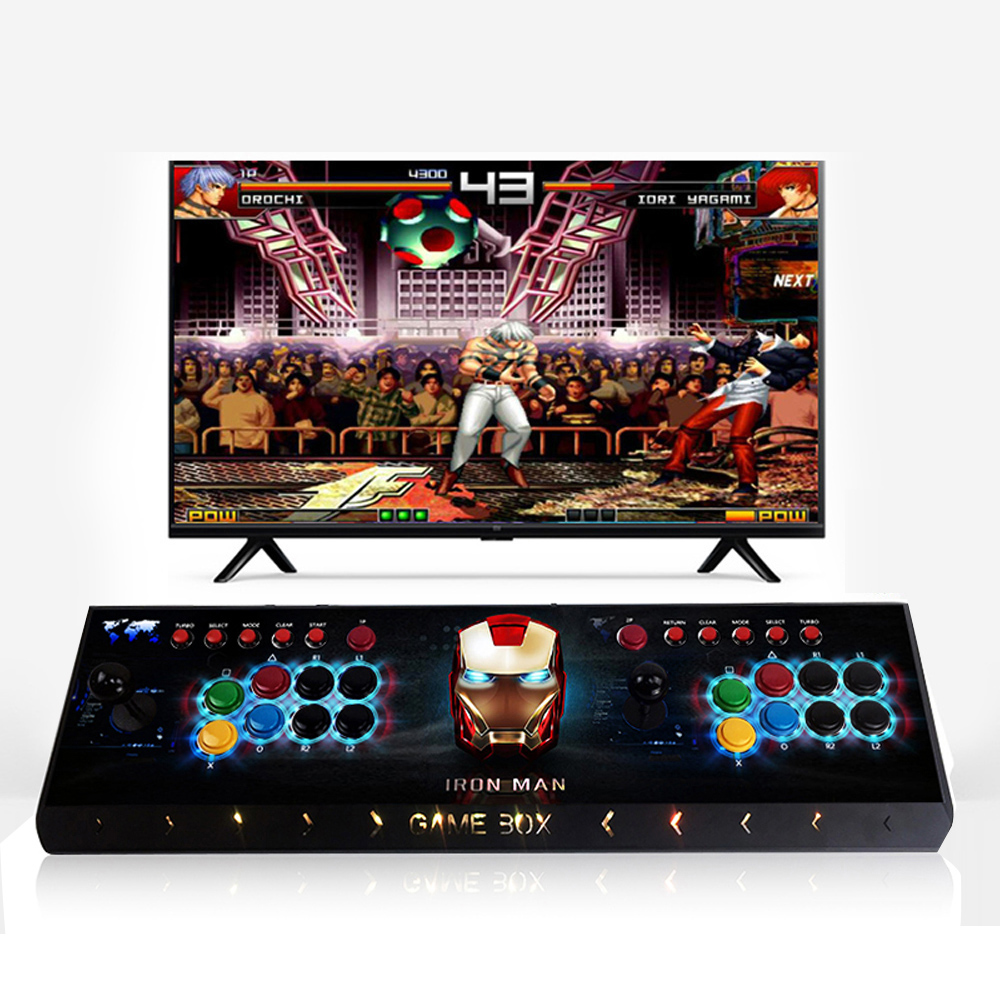New Upgraded Version Arcade Game Console With Pandora Box 9D Game Board Multi Games 2222 In 1,Joystick Consoles