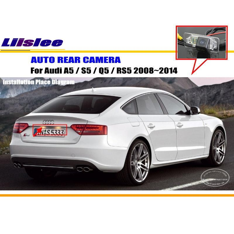 Liislee For Audi A5 / S5 / Q5 / RS5 2008~2014 Rear View
