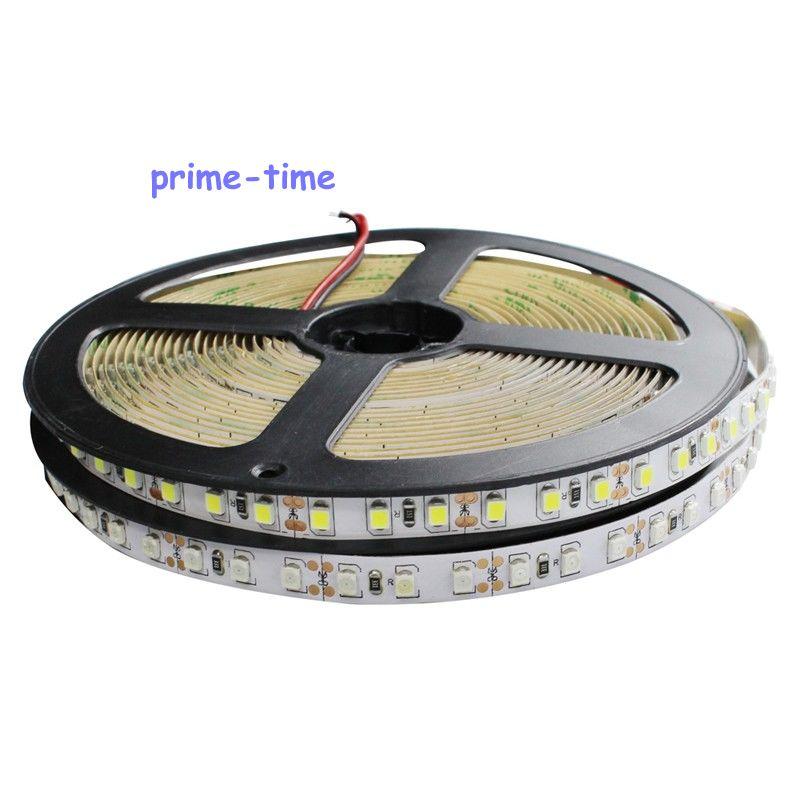 3528 SMD 120 LED / m LED sloksne, 5m 600 LED 12V elastīga gaisma BEZ - LED Apgaismojums - Foto 6