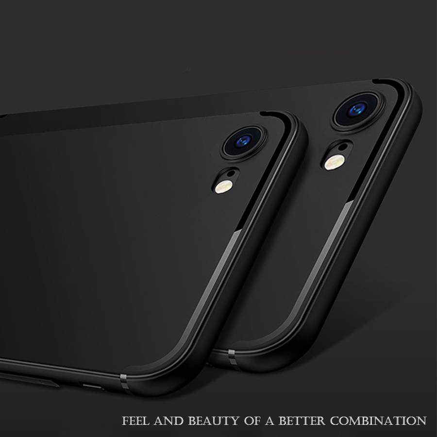 Luxury Soft Back Silicon matte Case for iPhone 7 Plus Cases iPhone 6 5s 6s 6 plus 6s plus 5 SE TPU Full Cover Phone Shell Cases 360 degrees