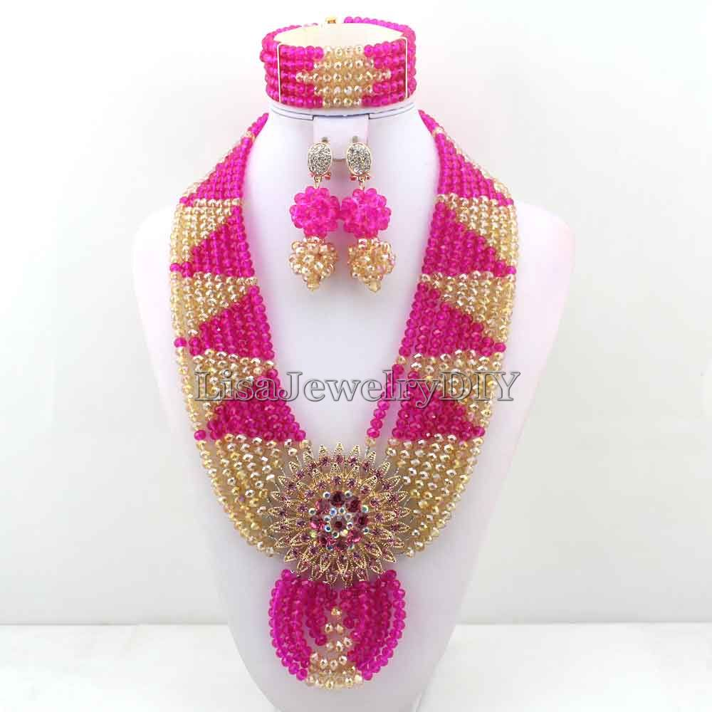 Charming Statement Necklace Nigerian Wedding African Beads Bridal Jewelry Set Crystal Jewelry Set Womens Jewellery Set HD6976Charming Statement Necklace Nigerian Wedding African Beads Bridal Jewelry Set Crystal Jewelry Set Womens Jewellery Set HD6976