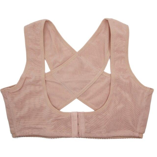 Women Posture Corrector Body Shaper Breast Lifter Corset Back Pain Belt Shoulder Brace