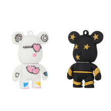 2017 cartoon violent bear 2.0 usb flash drive thumb pendrive u disk 4gb 8gb 16gb 32GB 64GB free