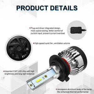 Image 4 - Roadsun פנס LED הנורה H4 Led H7 פנס אור CSP שבב H11 רכב 9005 9006 HB4 10000LM 12V 24V רכב אוטומטי מנורות