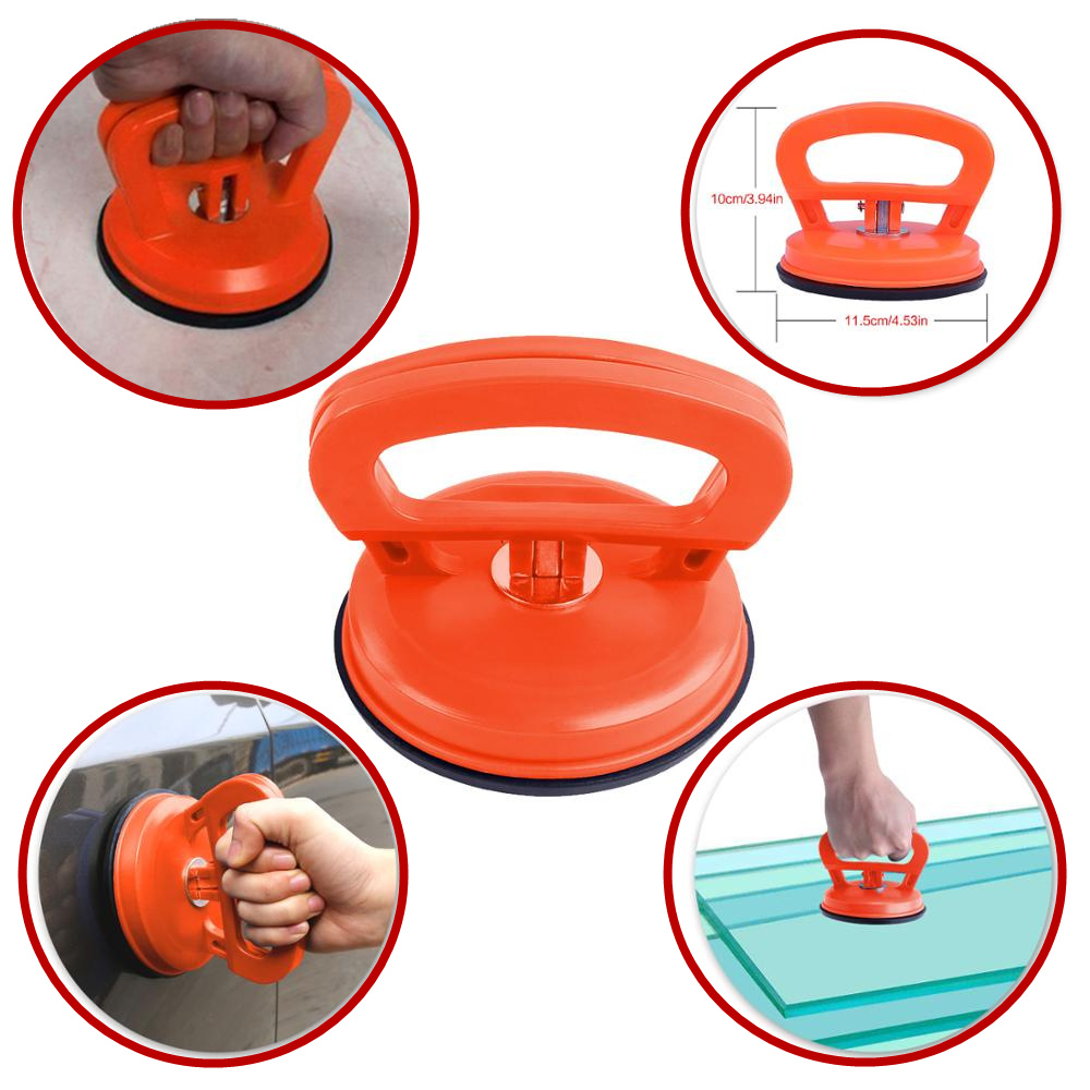 4.5inch Car Dent Puller Single Claw Sucker Vacuum Suction Cup Tile Extractor Floor Sucker Remove Dents Hail Pits Lifter Carrier