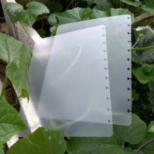 A4 Loose Replacement Transparent Cover Film Skiva Bindande Skydd Champion Hole Plstic Punch Frosted Binding Notebook