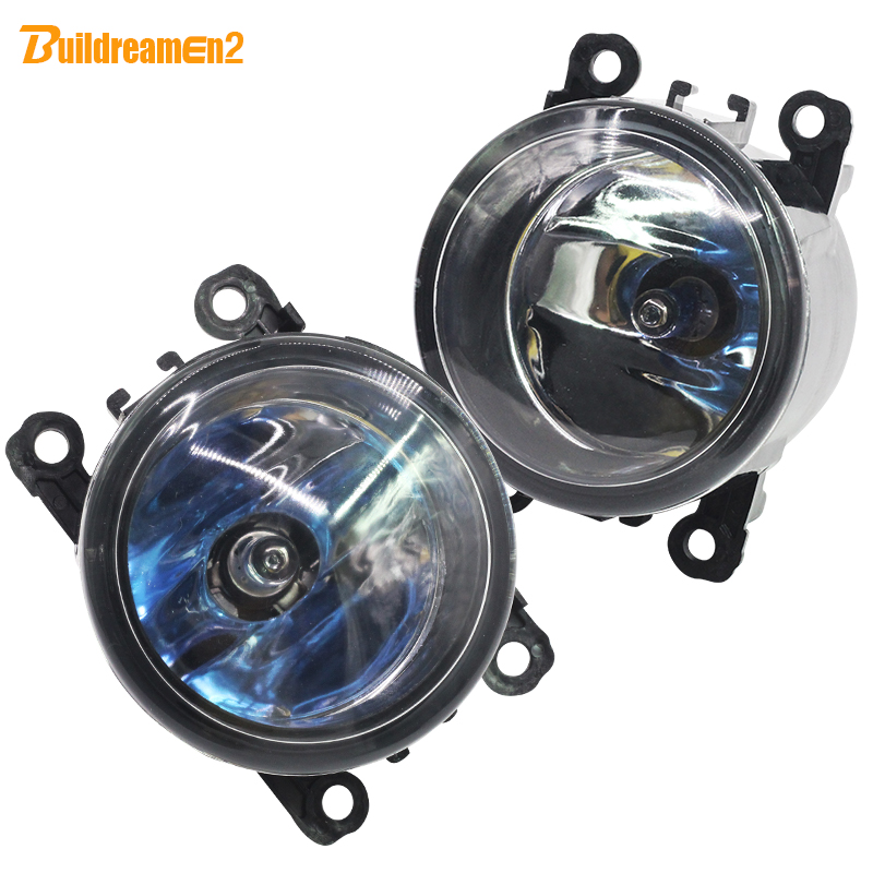 Buildreamen2 For Peugeot 207 307 407 607 3008 For Land Rover Range Rover Freelander Discovery 100W Car Styling Halogen Fog Light dsycar 1pair car styling steering wheel zinc alloy shift paddles for land rover aurora freelander discoverer range rover jaguar