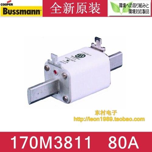 [SA]United States BUSSMANN Fuses 170M3811 170M3811D 80A 690V 700V fuse