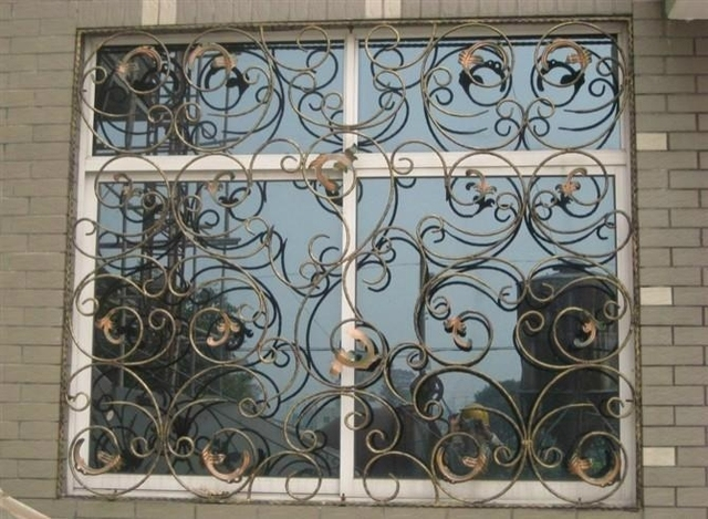 iron window grill ornamental wrought iron steel glass windowmetal window windowswindow grill design