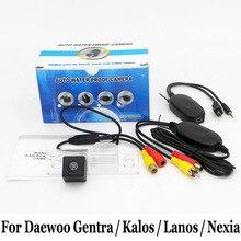 Для Daewoo Gentra/Kalos/Lanos/Nexia/Провод Или беспроводной Автостоянка Камера/HD CCD Ночного Видения Автомобильная камера Заднего вида камера