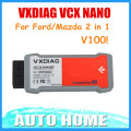 [VXDIAG Distributor] Newest! VXDIAG VCX NANO for Ford/Mazda 2 in 1 with IDS V100 V98 Better Than VCM II FOR FORD Free shipping