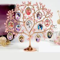 Ramka na zdjęcia Darmowe Niestandardowe Zdjęcia Diament Shine Photo Drzewo Prezent Ślubny Porządku Dziewczyną Prezent Urodzinowy Wysłać Przyjaciel piękne opakowanie