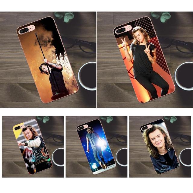 Bixedx Harry Styles Une Direction Larry Peint Pour Apple iPhone 4 4s 5 5C SE 6 6 S 7 8 Plus X Galaxy A3 A5 J1 J2 J3 J5 J7 2017