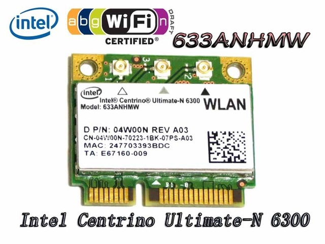 DELL INTEL CENTRINO ULTIMATE-N 6300 DRIVER DOWNLOAD FREE