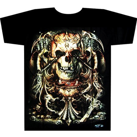 Wholesale - Hot selling! Brand Men's tattoo t shirt, Men's cotton T shirt .H-1136