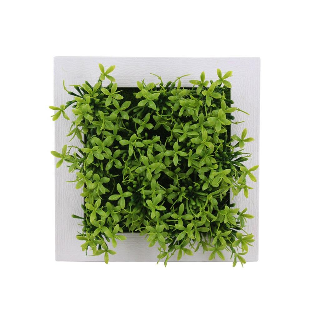 Пластиковая рамка для фотографий растений суккулентные растения орнамент креативная эмуляция настенный искусственный свадебный цветок рамка - Цвет: 7A