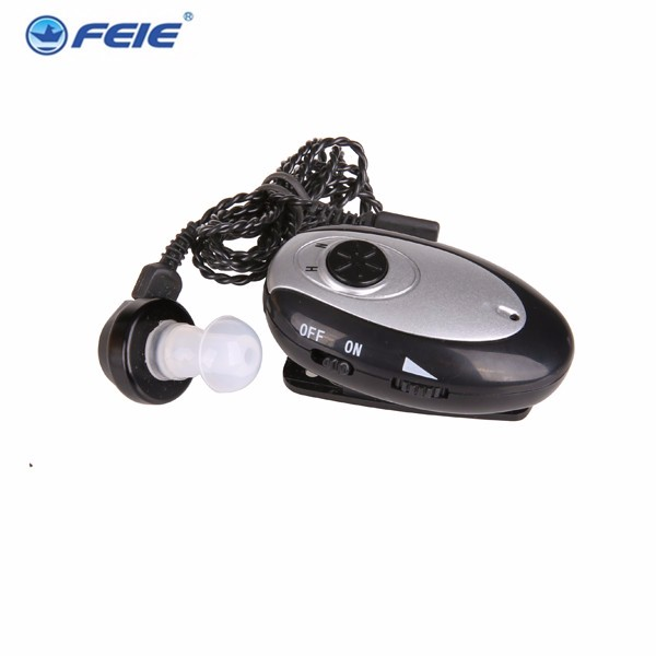 body worn pocket hearing aid Rechargeable power hear aids  for sale  S-80 free shipping for sale feie hearing aid clinic s 219 rechargeable hearing aids at low price drop shipping