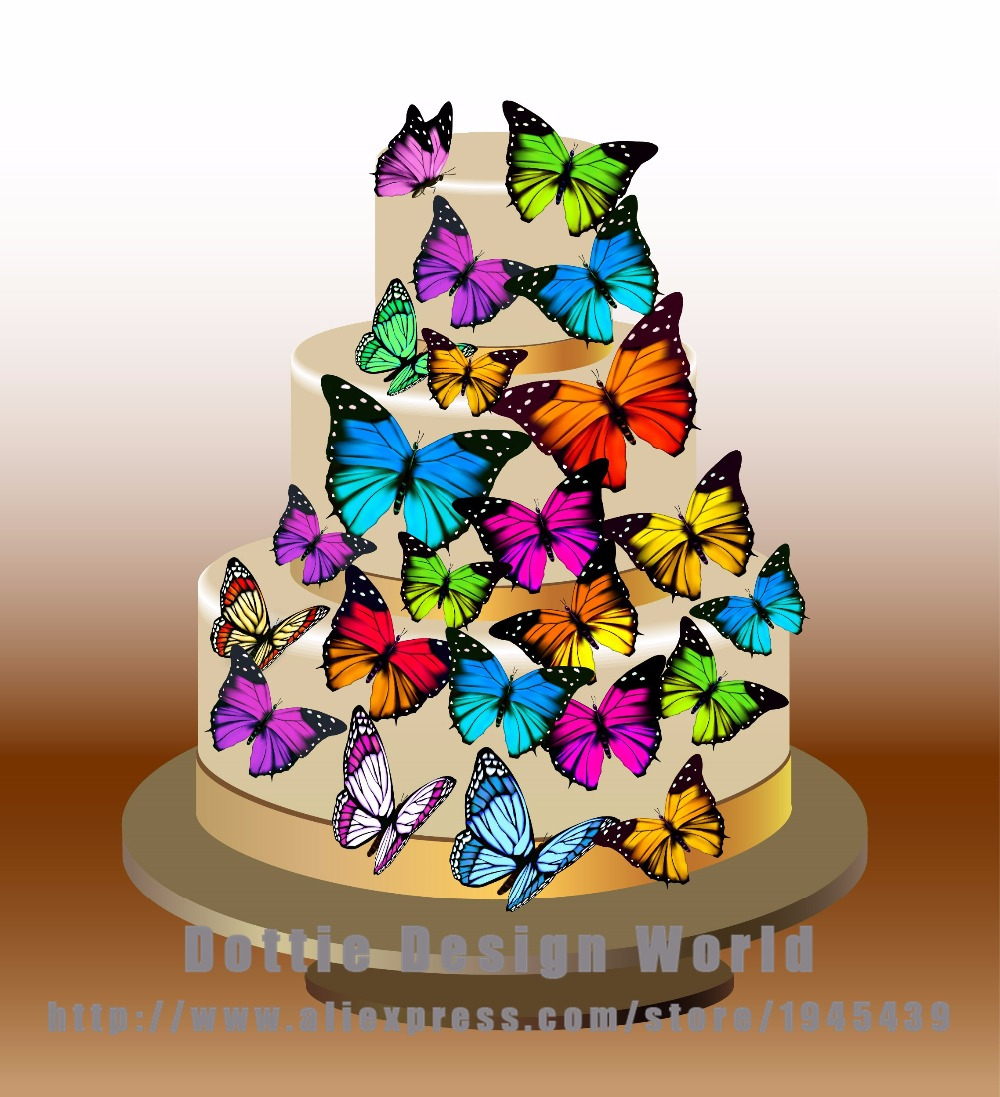 Vintage Rainbow Cake Decoration Edible : Popular Edible Cupcake Toppers-Buy Cheap Edible Cupcake ...