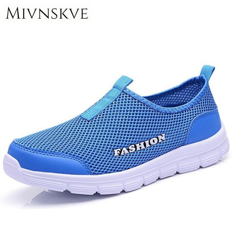 MIVNSKVE Men Shoes Fashion 2017 Summer Comfortable Men Casual Shoes Mesh Breathable Flat shoes cheap shoes Plus Size 34-46 high quality dr512 color drum unit compatible for minolta bizhub c224 c284 c364 c454 c224e c284e c364e c454e c554e