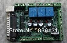 Бесплатные корабль Новый тип Интерфейс Breakout Совета Адаптер ЧПУ MACH3 USB 6 Ось водитель мотора