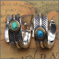 Wholesale Artisan Design Hand Carved S925 Silver Feather Ring For Women Men Indian Vintage Style Adjustable Size Unique Jewelry