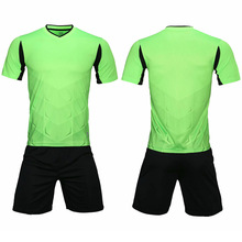 цены на 2019New Shelf Men's Football Team Jersey Team Football Team Training Uniform Suit Pocket Football Wear Sports Set Print в интернет-магазинах