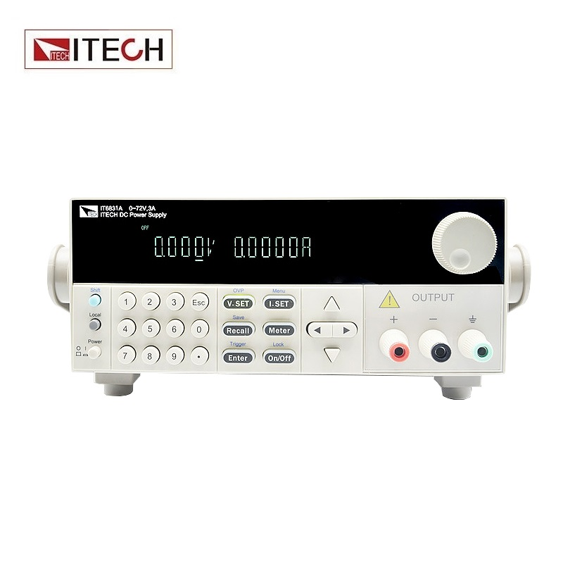 ITECH IT6831A Single Channel Programmable DC Power Supply 18V 10A 180W itech k136dw