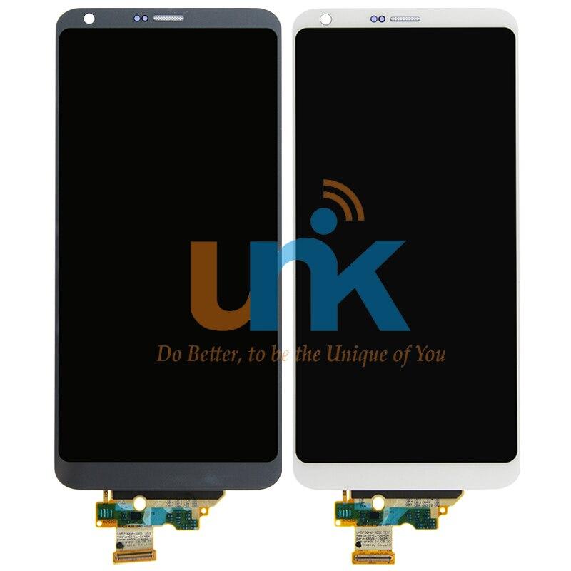 Negro teléfono blanco 100% probado lcd de reparación de reemplazo para lg g6 pan