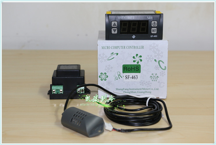 Zhongshan Shang Fang SF-463 Electronic thermostat intelligent electronic humidity control humidity control switch цена