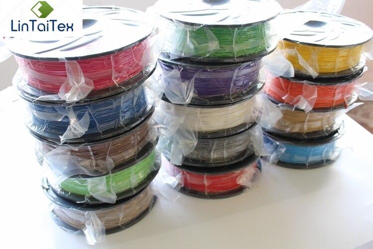Haute Qualité 1 kg 1.75mm PLA Plastique Filament 3d Imprimante Filament Coloré 3d Pen Filament