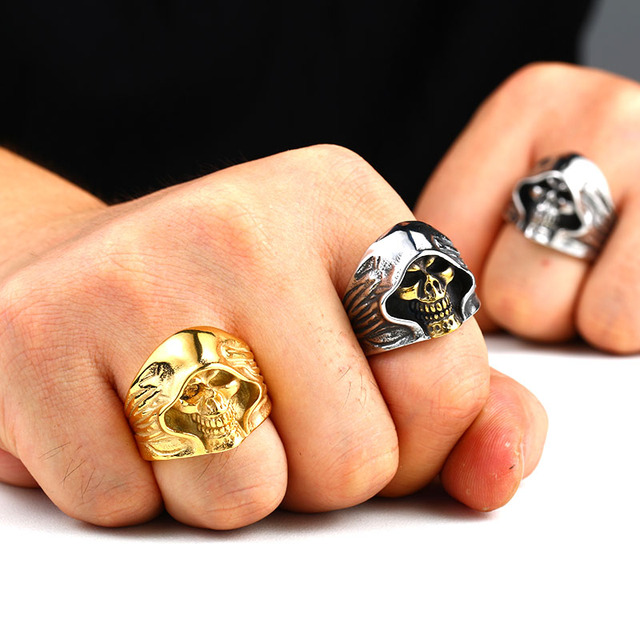 High Quality Skull Ring