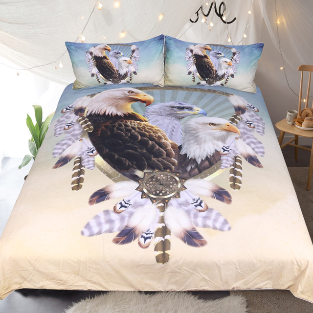 Three Eagles American Bedding Set
