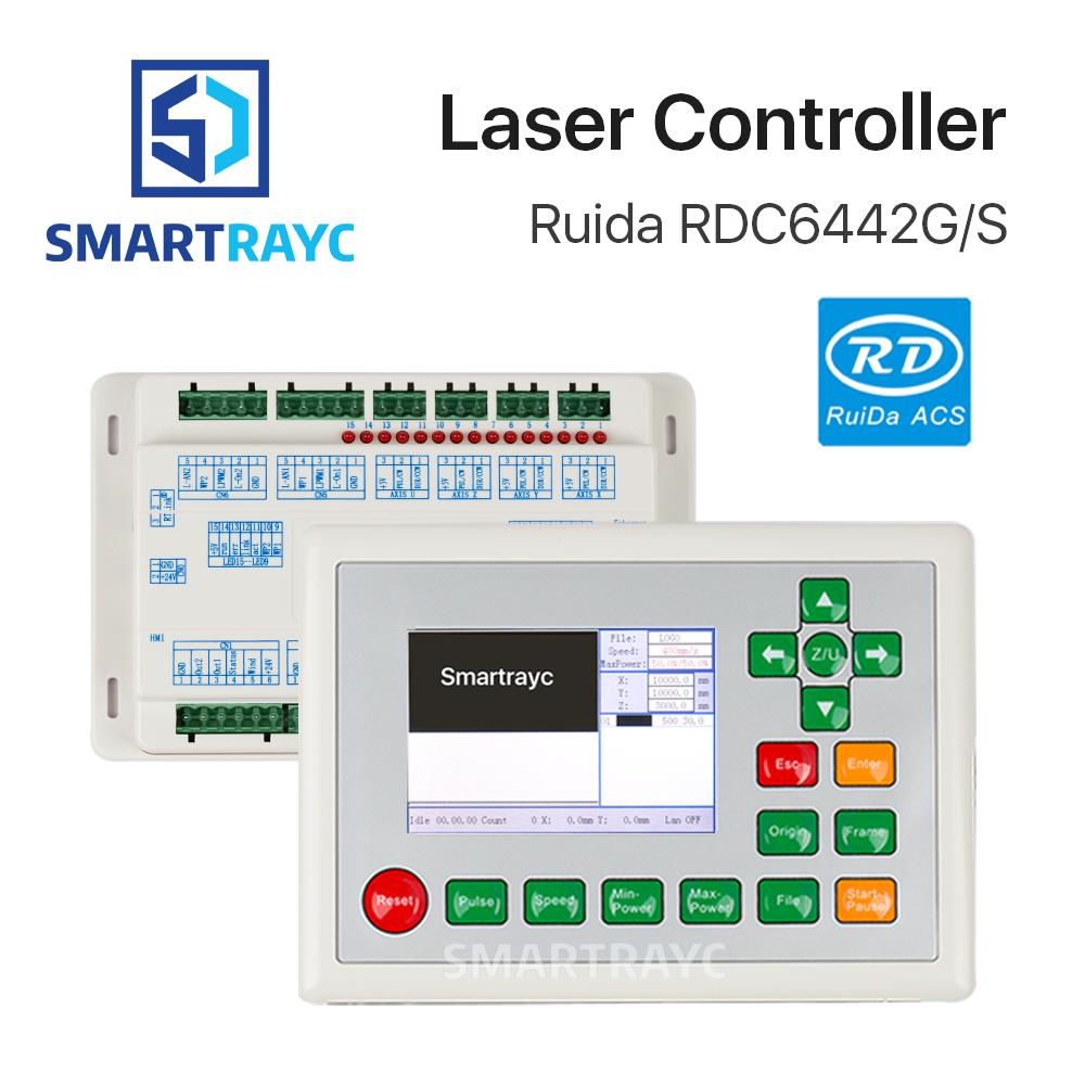 Smartrayc Ruida RD RDC6442G Co2 Laser DSP Controller for Laser Engraving and Cutting Machine RDC 6442 6442G 6442S цена
