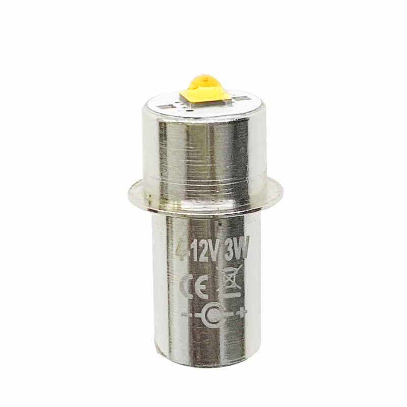 High Bright  P13.5S 4-12v LED Flashlight Light Bulbs LED Emergency Work Light Lamp For Maglite Replacement Torches Bulb