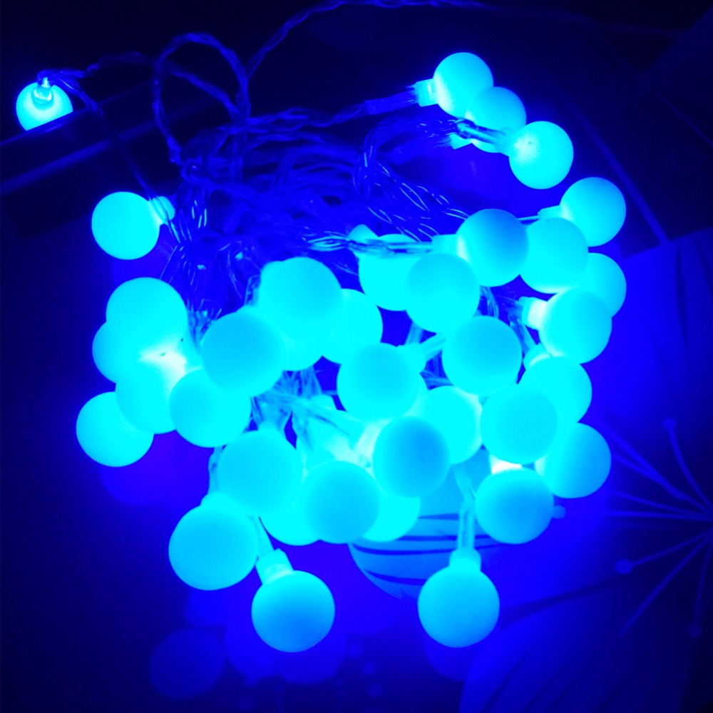 led string light battery led light decoration 40led AA battery led decoration light ball led light (4)