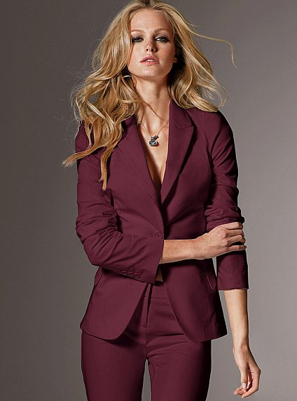 Popular Burgundy Pant Suit Women-Buy Cheap Burgundy Pant Suit Women Lots From China Burgundy ...